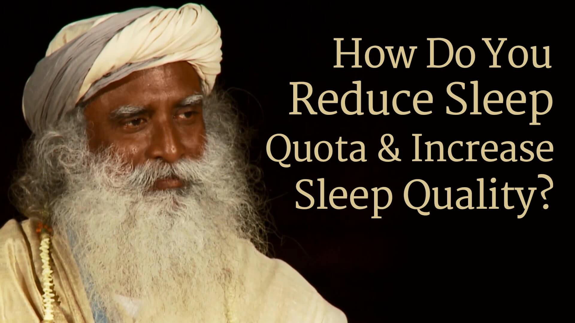 How to reduce sleep but stay healthy